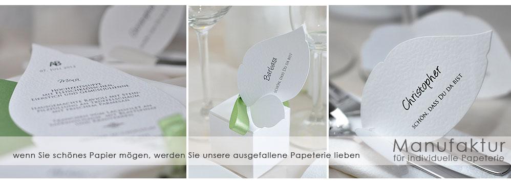 Hochzeitseinladungen - Hochzeitskarten