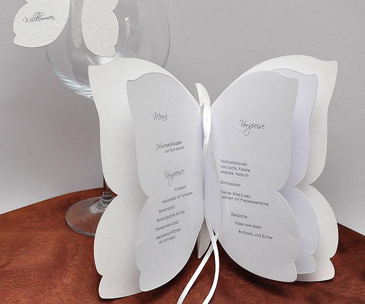 au ergew hnliche men karte zur hochzeit bbft atelier. Black Bedroom Furniture Sets. Home Design Ideas