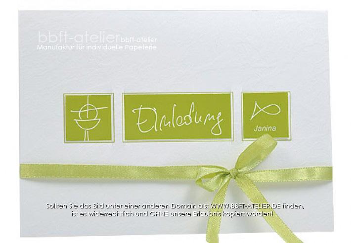 einladung kommunion 100 | einladung | kommunion | bbft-atelier, Einladung
