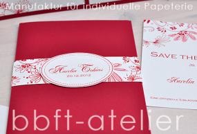 Einladungskarte Hochzeit 201