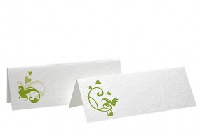Tischkarte Hochzeit 601