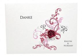 Danksagungskarte Hochzeit 501