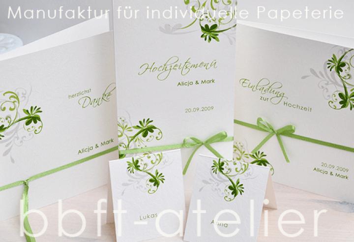Set Hochzeit 551 | Hochzeits Sets | Hochzeit | Bbft Atelier, Einladung