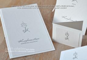 Einladung Konfirmation SymbolStar