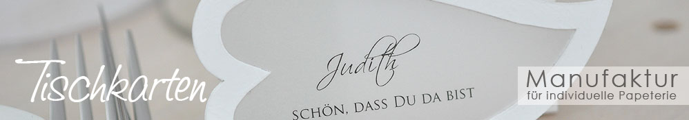 Tischkarte Hochzeit 001