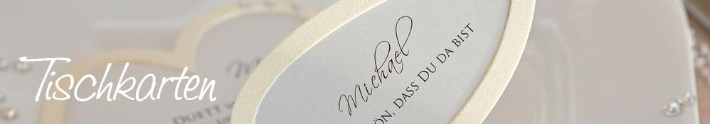 Tischkarte Hochzeit 990